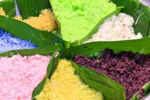 thai color rice
