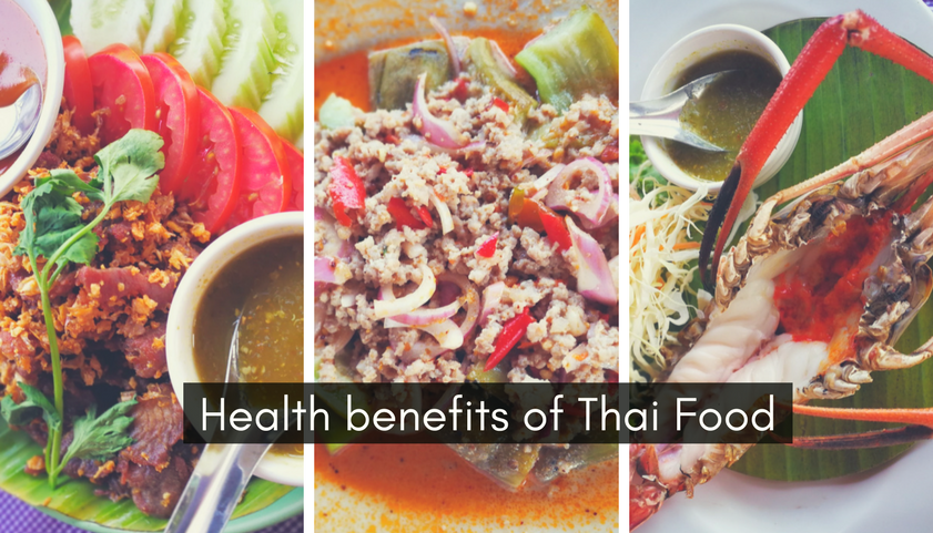 Health benefits of Thai food