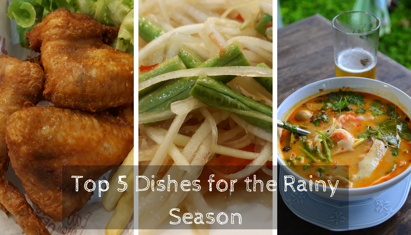 Top 5 Thai Dishes for Rain