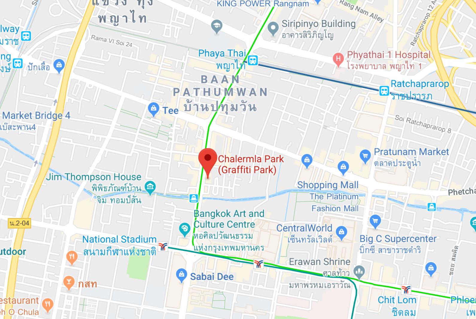 chalerma park map